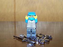 CHROME!! (The Skull Bandit) Tags: brick art apple movie for tv call arms lego duty ghost engine halo artsy will prototype microsoft amelia trans build cod nerf trade bionicle proto prototypes chapman protos mw2 brickarms mw1