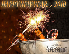~  Happy New Year's,  132 Languages ~ (ViaMoi) Tags: new newzealand party festive photo champagne australia newyear sparklers celebration years sparks 2010 bonneanne godtnyttr viamoi nuwejaar 20092010