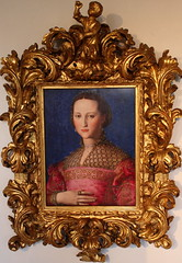 Agnolo BRONZINO, Eleonora of Toledo (Ondra Havala) Tags: wood art history museum canon painting gallery prague sigma galerie exposition toledo national frame painter oil eleonora highiso olej malba noisereduction 2470 sternberg palc bronzino agnolo 40d canon40d ternbersk