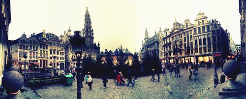 Bruxelles: the central place