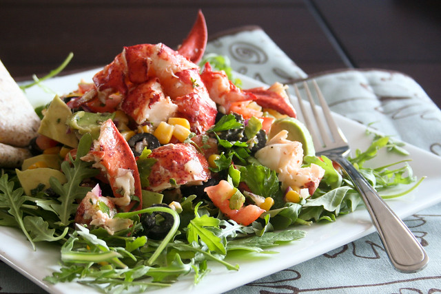 Summer Is Almost Here Lobster Salad • The Healthy Foodie