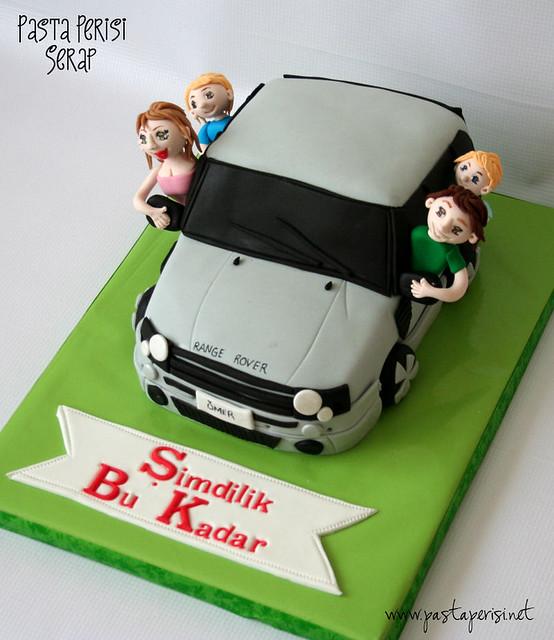 Range Rower Cake