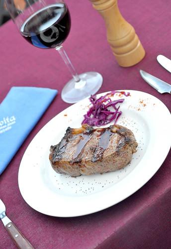 Carne de corte argentino