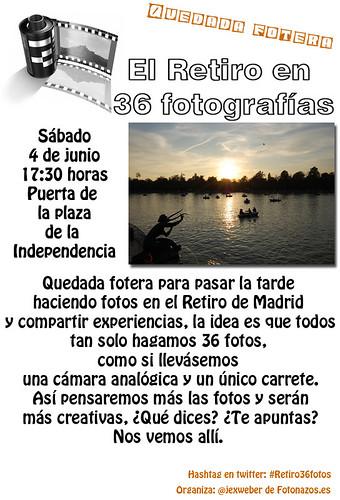 Quedada Fotera: El Retiro en 36 fotografías