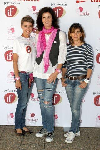con Alejandra y Nuria