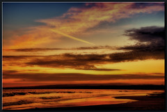Sundown in Aptos (edpuskas) Tags: ocean california sunset color mark 5d hdr aptos exposurequot quotcanon iiquot quotlong quotseascape resportquot