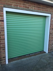 Chartwell green roller door