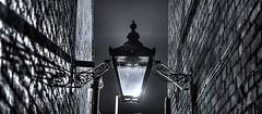 gas light alley (williams.stuart72) Tags: lamp old hdr blackandwhite nikond3300 sigma1750 longexposure gaslamp wednesfield streetlights light