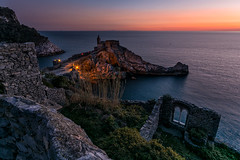Portovenere evening (antoniopedroni photo) Tags: portovenere liguria laspezia tramonto italy sunset light evening