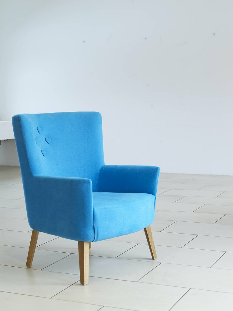 Love Chair in Moroccan Blue