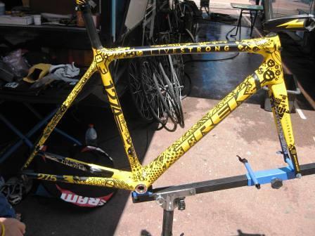 tour de france bikes 2009. Lance Armstrong 2009 Tour