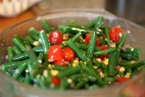 Colorful Salad with Shallot Vinaigrette