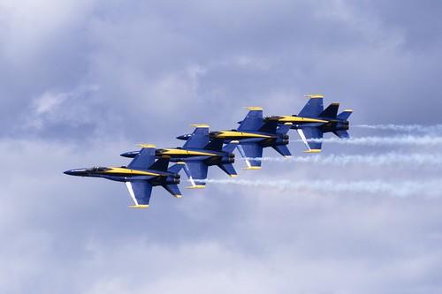 Blue Angels Air Show (by John Brainard)