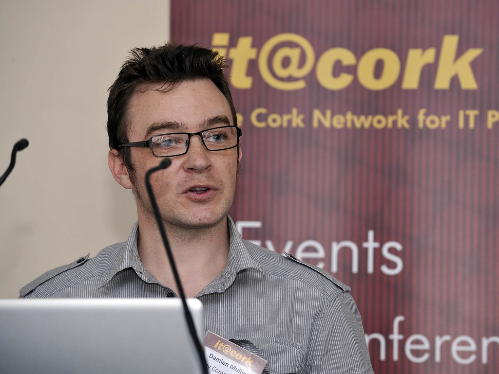 Damien Mulley, Mulley communications opens the event..jpg