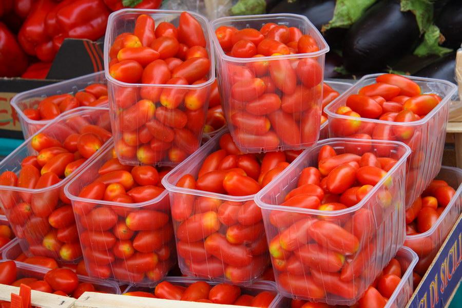 tomatoes in Padova Bazaar