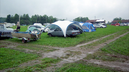 20090703 - X-Day - GEDC0258 - tents, cars, mud - please click through to leave a comment on FlickR