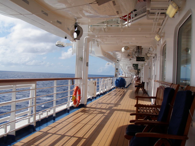 Promenade Deck On The Carribean Princess Cruise Critic Message Board Forums