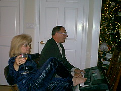 Donna at the Piano (NjCarGuy) Tags: feet donna piano