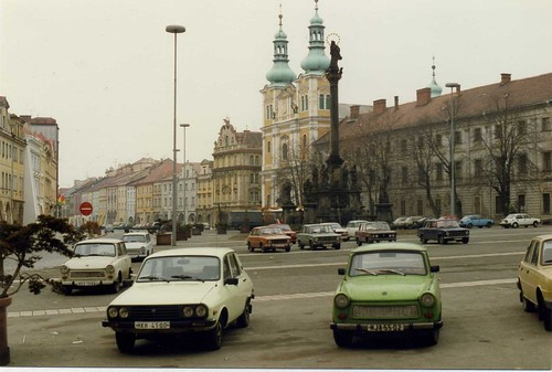 Trabant en Checoslovaquia