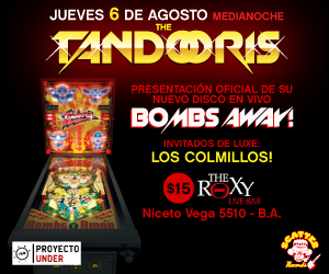Banner Proyecto Under - The Tandooris