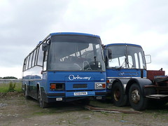 ORKNEY COACHES - KPS 701T / C321 PRM (cuibhlemor) Tags: bedford coach orkney with 3200 scrap kirkwall coaches paramount withdrawn 411 476 bodied plaxton orphir ynt coachwork c53f c321prm kps701t