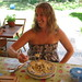 "Kate Enjoying ""Pasta con ricotta e fave"""