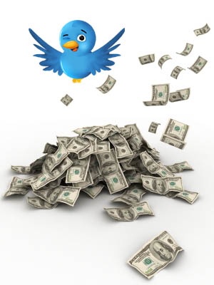 Tweeting in the cash