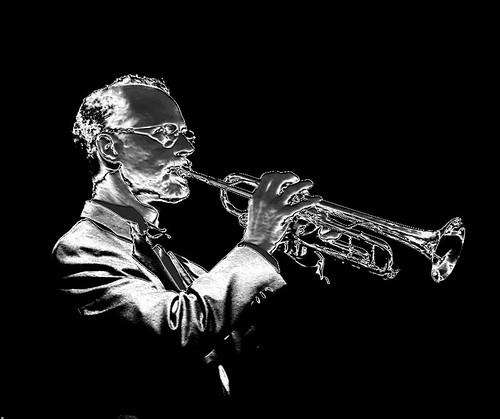 DSC00066adj2-Met0  Trumpet Player, Metallic