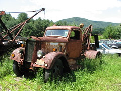 A VERY OLD TOW TRUCK IN AUG 2009 (richie 59) Tags: trees overgrown rural truck rust rusty headlights upstateny grill rusted highways upstatenewyork drives trucks newyorkstate headlight roads catskills oldtruck towtruck obsolete nystate rustytruck 2000s grills 2door oldtrucks ulstercounty rustyoldtruck twodoor mopars rt212 americantruck twolane 2lane olddodge rustyoldtrucks rustytrucks towtrucks ulstercountyny ustrucks olddodgetruck ustruck oldrustytruck americantrucks oldtowtruck willowny 1936dodge olddodgetrucks aug2009 oldtowtrucks 1936dodgetruck oldrustytrucks aug112009 oldmopars oldmopar 1930struck 1930strucks