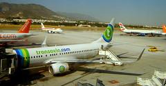 A Very Busy Malaga Airport (class 50) Tags: spain planes costadelsol airports britishairways malaga aeroplanes easyjet iberia aircrft transvaia