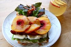 blp (sevenworlds16) Tags: ranch summer bread bacon yum acme sandwich lettuce butter peaches grilled niman