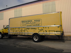 anotha truck (Vagina Face Killah) Tags: graffiti oakland dement jurnes