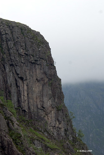 Scaling the Cliff - Glen Coe