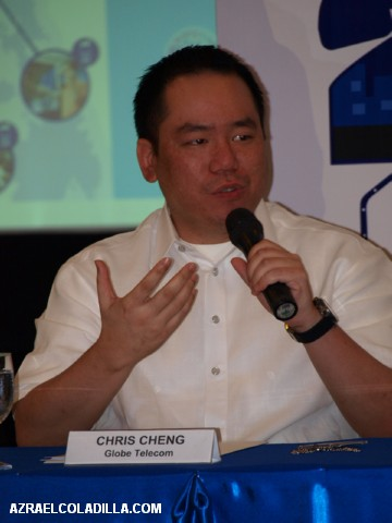 Chris Cheng – Globe Business Head for Professional Services & New Business