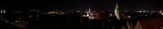 Nürnberg Panorama (Chiesamonte) Tags: city longexposure light panorama night germany deutschland licht exposure nightshot nacht 2009 nürnberg nachtaufnahme langzeitbelichtung