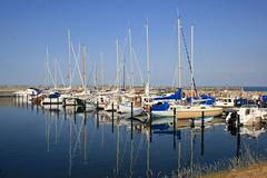 Havnebyen - Colorful boat reflections (Jrgenshaus) Tags: summer colors geotagged denmark boot boat colorful harbour sommer july juli hafen dnemark danmark 2009 farben sjllandsodde challengeyouwinner havnebyen friendlychallenge