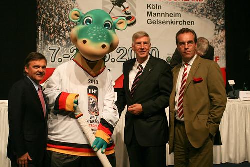 IIHF WM 2010 - Pressekonferenz