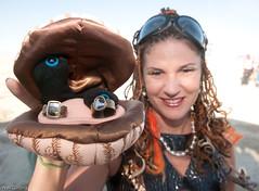 Congratulations to Jen and Gabe, Burning Man 2009 (mr. nightshade) Tags: desert blackrockcity event brc burningman2009 bman09 bm09