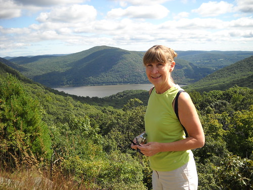 Hiking with Mom - Storm King Mt