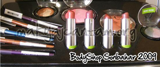 body shop 2010 sonbahar makyaj koleksiyonu kozmetik güzellik sırları