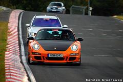 Porsche (Karsten Groeneweg) Tags: nikon 911 sigma apo september porsche rs 2009 scuderia karsten gt3 997 nordschleife 70300 nurburgring d40 hanseat groeneweg karrousel