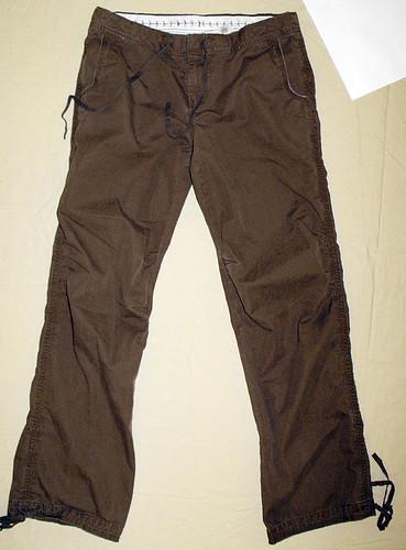 brown ebay pants oldnavy drawstring aleighnhalf