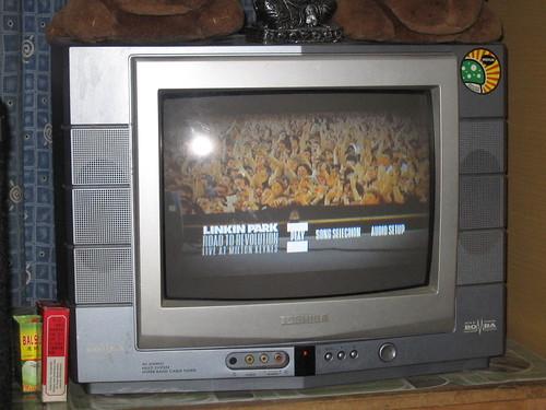Tv sony wega 21'(used)/Toshiba Bomba 14'(used)