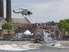 HMS Raider (P275) (Juhani Sierla) Tags: london greenwich helicopter lynx royalnavy hmsraider laivasto flynavy100