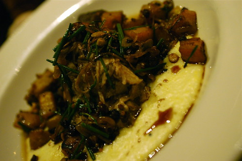 braised pork shoulder with creamy polenta