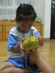 20090928-zozo做柚子作品 (2)