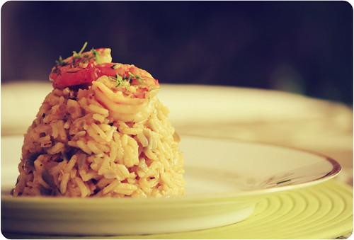 arroz con camaron