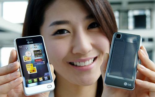 LG전자 POP폰(GD510) 출시