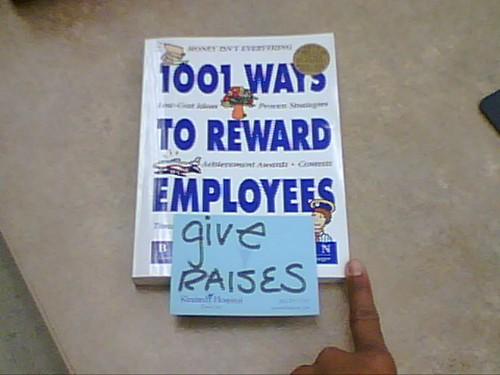 passiveaggressivenotes.com: 1 easy way to reward employees