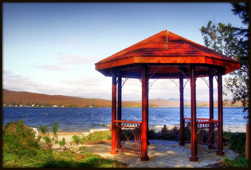 Gazeebo de lac